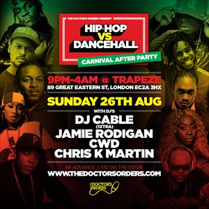 Hip-Hop vs Dancehall - Carnival After Party