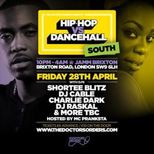 Hip-Hop vs Dancehall - South
