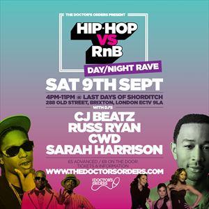 Hip-Hop vs RnB - Day / Night Rave