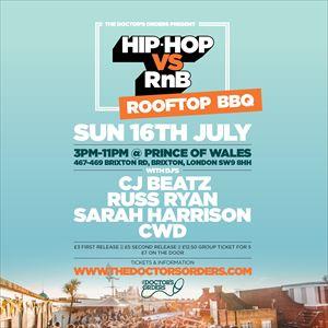 Hip-Hop vs RnB - Rooftop Rave