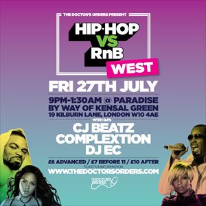 Hip-Hop vs RnB - Westside