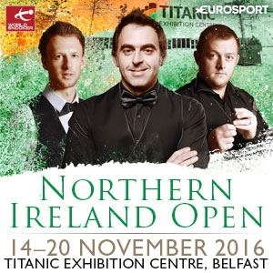 Home Nations Series - Northern Ireland Open