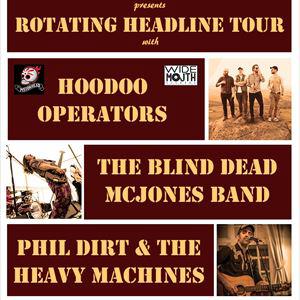 Hoodoo Operators / Blind Dead McJones / Phil Dirt