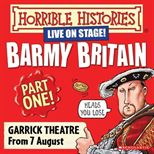 Horrible Histories Part I Offer