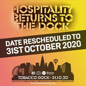 Hospitality Returns To The Dock tickets in
