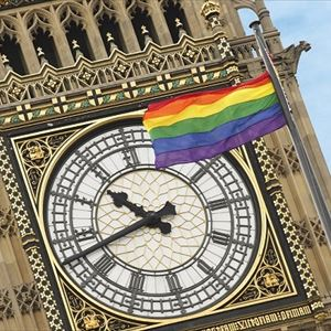 Houses of Parliament - Pride at Parliament