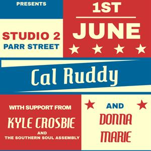 Hug Live Presents Cal Ruddy & Special Guests