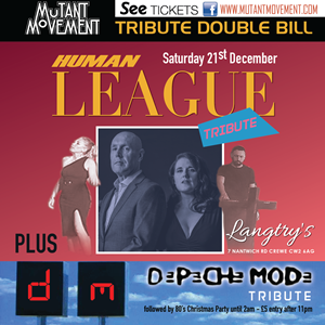 Human League Tribute/Depeche Mode Tribute/80sParty