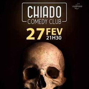 HUMOR NEGRO NO CHIADO COMEDY CLUB