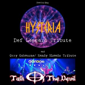 Hysteria (Def Leppard) + Talk Of The Devil (Ozzy?)