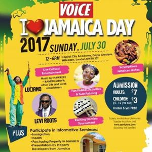I Love Jamaica Day 2017