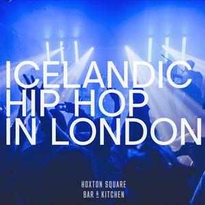 Icelandic Hip Hop In London
