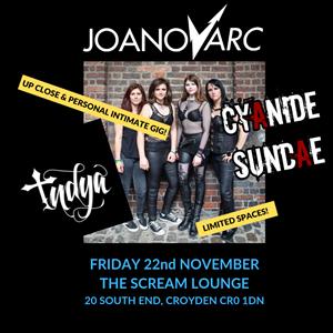 Indya Music Promotions presents - JoanovARC