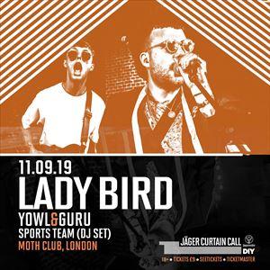 Jäger Curtain Call & DIY present Lady Bird