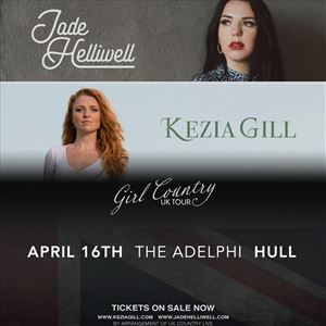 """Jade Helliwell + Kezia Gill """"Girl Country Tour"""""""