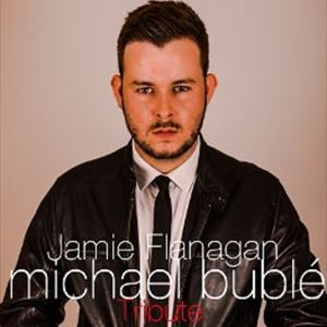 Jamie Flanagan as Michael Bublé  with his Big band