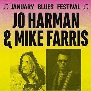 January Blues Festival - JO HARMAN + MIKE FARRIS