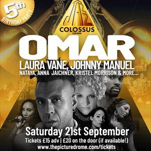 Jazz Colossus feat. Omar, Laura Vane & more