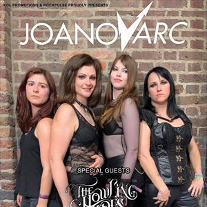 JOANovARC plus Guest's The Howling Tides + more