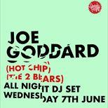 Joe Goddard (Hot Chip / The 2 Bears) at Witness
