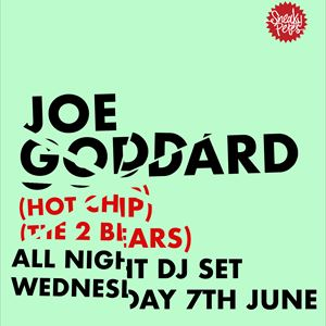 Joe Goddard (Hot Chip / The 2 Bears) at Witness