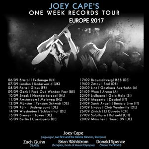 Joey Cape's One Week Records Tour