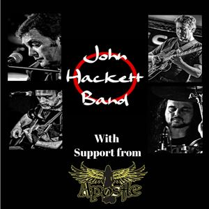 John Hackett Band with support from Apostle
