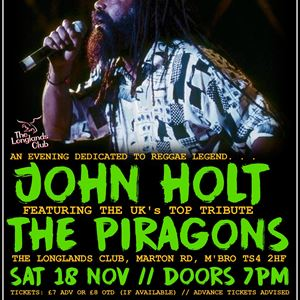 John Holt tribute with The Piragons