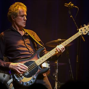 John Illsley, founder member of Dire Straits