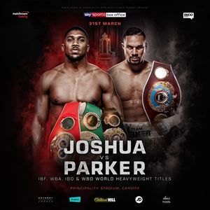Joshua V Parker Ticket And Coach Package