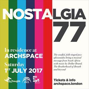 Joy Featuring Nostalgia 77 Live Band