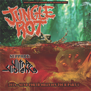 Jungle Rot, Ultra-Violence - Manchester.