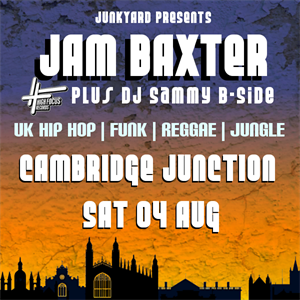 Junkyard Presents Jam Baxter