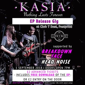 K A S I A EP Release + Support