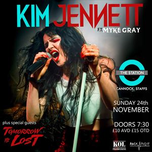 Kim Jennet ft Myke Gray plus Special Guest's