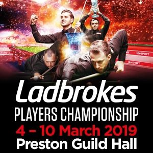 Ladbrokes Players Championship Snooker