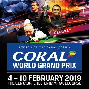 Coral World Grand Prix Snooker
