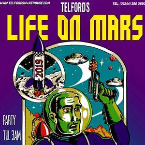 Life On Mars NYE Costume Caper