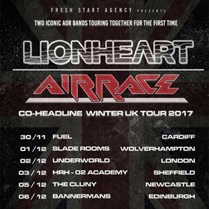 LIONHEART // AIRRACE CO-HEADLINE