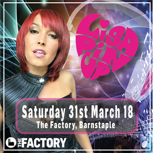 Lisa Pin up -  The Factory Barnstple