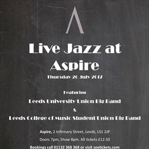 Live Jazz at Aspire - July