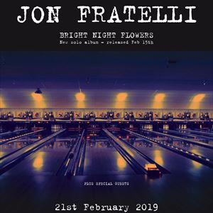 Live Nation presents Jon Fratelli + Special Guests