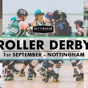 Live Roller Derby Triple Header
