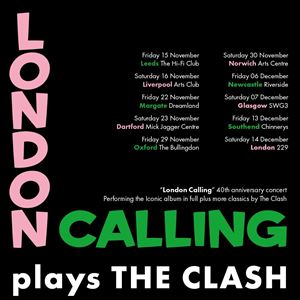 "LONDON CALLING play THE CLASH's ""London Calling"""
