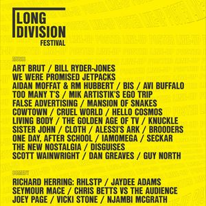 Richard Herring: RHLSTP at Long Division Festival