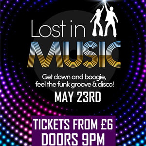 Lost In Music (Funk, Groove + Disco) tickets in