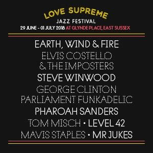 Love Supreme Sunday - Earth, Wind & Fire