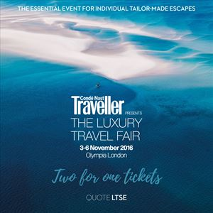 The Luxury Travel Fair - Sunday 4 November