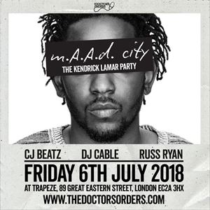 m.A.A.d City - The Kendrick Lamar Party