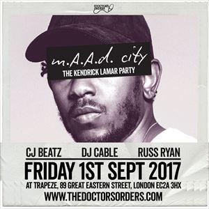 m.A.A.d City - The Kendrick Lamar Party